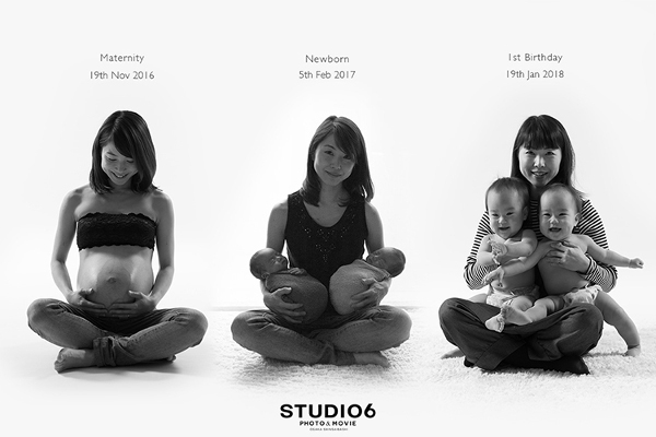おしゃれなマタニティフォトは大阪の【STUDIO6】で!~専門スタッフが素敵な思い出作りをお手伝い~