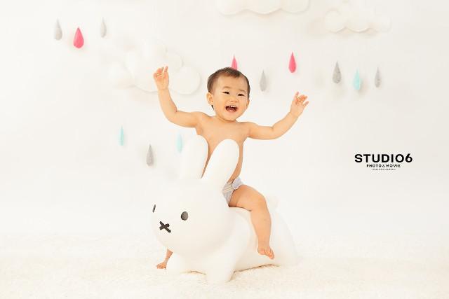 赤ちゃんの記念撮影はSTUDIO6にお任せ!